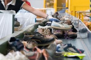 Schuh-Recycling – ein Schritt nach vorn